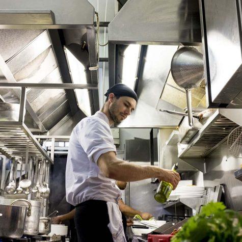Lo chef Matteo Merletti